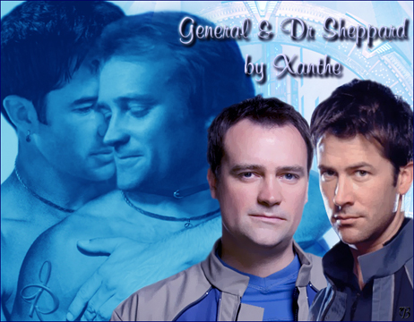 General & Dr Sheppard by Xanthe