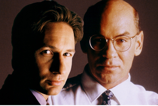 X Files Mulder. The X Files Skinner/Mulder