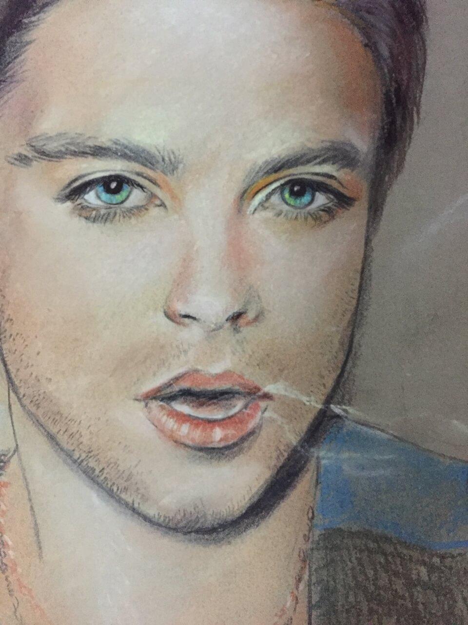 Sebastian Stan by Line126
