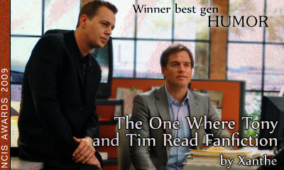 The One Where Tony and Tim Read Fanfiction - Xanthe