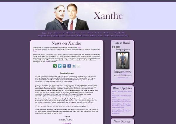Xanthe.org efic
