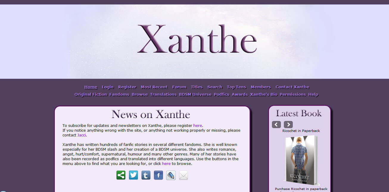 Xanthe.org Efic