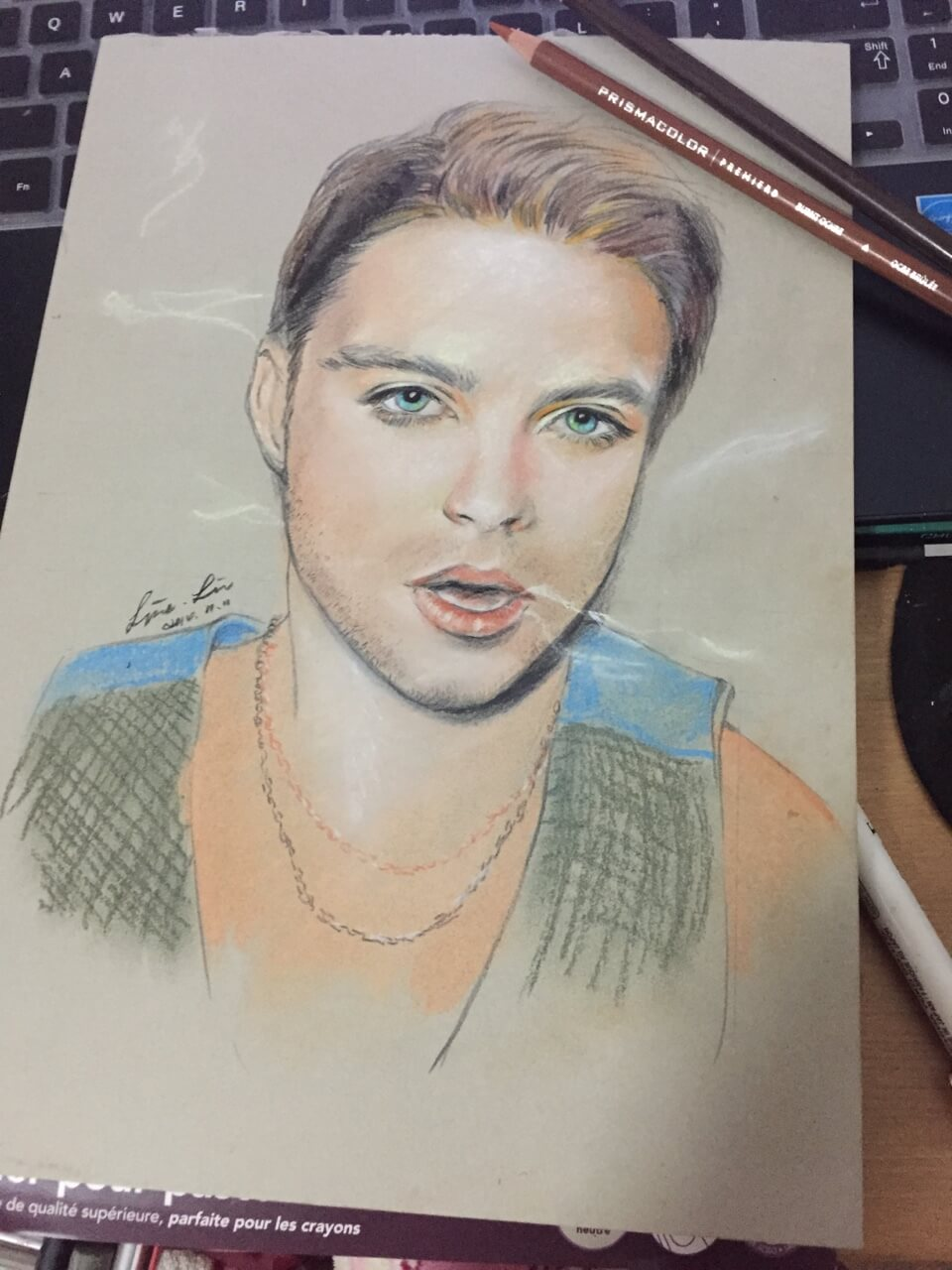 Sebastian Stan by Line126